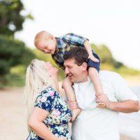 Leonardtown beach family
