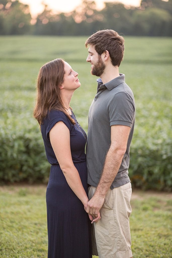 Hollywood farm engagement